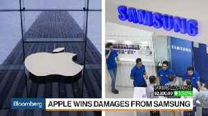 News video: Apple Wins $539 Million From Samsung in Damages Retrial