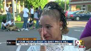 News video: Four shot in East Price Hill