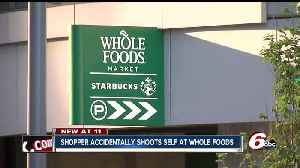 News video: Man's gun accidentally goes off at Whole Foods in downtown Indianapolis