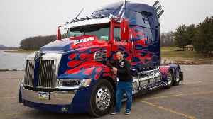 World's First Fan-Built Optimus Prime | RIDICULOUS RIDES