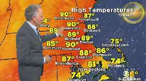 News video: WBZ Morning Forecast For May 25