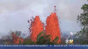 News video: Lava From Hawaii Volcano Enters Ocean From 3 Flows