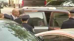 News video: RAW VIDEO: Weinstein Surrenders To Police In Sexual Assault Probe