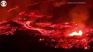 News video: RAW VIDEO: Lava Flows From Fissure On Hawaii's Big Island