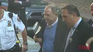 News video: Harvey Weinstein Surrenders to Police Amid Allegations of Rape and Sexual Assault