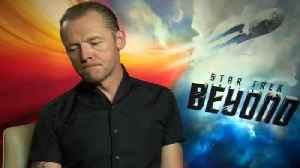 News video: Simon Pegg Talks Quentin Tarantino's 'Star Trek'