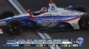 Colorado IndyCar driver to race the Indianapolis 500 for organ donation