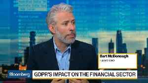News video: GDPR to Present Challenges to Financial Services Industry