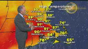News video: WBZ Mid-Morning Forecast For May 25