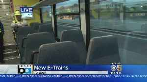 News video: NEW BART SERVICE: BART unveils its new service to Antioch