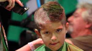 News video: Bald is beautiful at Calusa Elementary