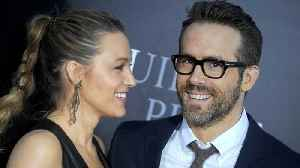 News video: Ryan Reynolds revealed the reason he named his daughter James, and pass the tissues