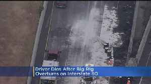 Fiery Big Rig Crash Shuts Down I-80 Near Vallejo [Video]