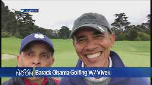 News video: Former President Obama Golfing With Kings Owner