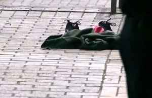 News video: PORTLAND STATE: Three pedestrians seriously injured after being struck by a hit-and-run driver on PSU campus sidewalk