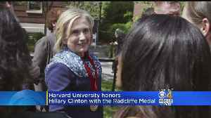 News video: At Harvard, Clinton Warns Of Threats To American Democracy