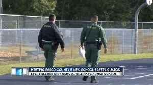 News video: Pasco County Schools fills 50 safety guard positions at elementary schools