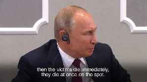 Use of military grade agent in spy poisoning not possible, says Putin