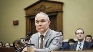 News video: EPA Head Pruitt's Security Team Cost Almost $3.5M in 1 Year
