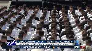 News video: President Trump delivers commencement speech at Naval Academy Graduation