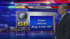 News video: Bob Turk Has Your Friday Evening Forecast
