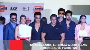 News video: No Screening Of Bollywood Films During Eid In Pakistan