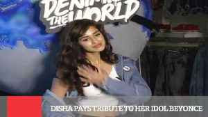 News video: Disha Pays Tribute To Her Idol Beyonce