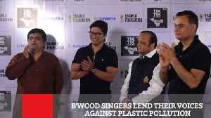 News video: B'wood Singers Lend Their Voices Against Plastic Pollution