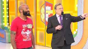 News video: The Price Is Right - Kevin's Got The Moves