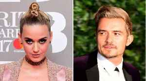 News video: Katy Perry Flies To London To See Orlando Bloom In New Play