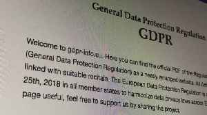 News video: GDPR Concerns Leads To Blocking Of EU Users