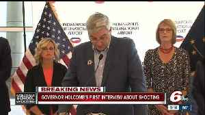 News video: Gov. Eric Holcomb comments on school shooting