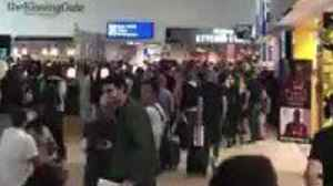 News video: Liverpool Fans Sing at John Lennon Airport Ahead of Champions League Final
