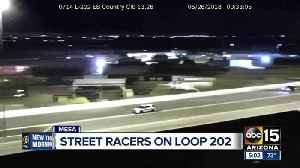 News video: DPS following alleged drag racers