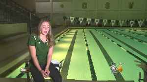 News video: CSU Student Take A Break From Swimming To Battle Depression