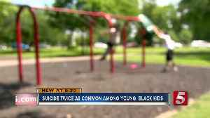 News video: Study: Young, Black Children Twice As Likely To Commit Suicide
