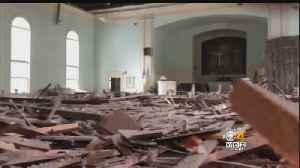 News video: Ceiling Collapses At Historic Ipswich Church