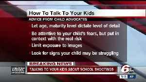 News video: Experts say the best thing you can do is listen to your child following a school shooting