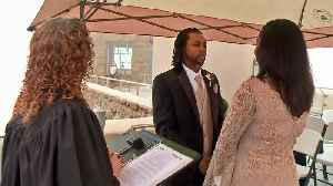News video: Couples Tie the Knot Atop Chilly, Foggy Mount Diablo