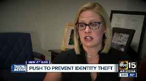 News video: New push to prevent identity theft by Arizona lawmaker
