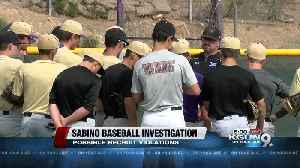 News video: Investigation underway into Sabino recruiting violations