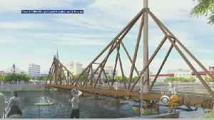 News video: Floating Wooden Bridge Would Connect Greenpoint, LIC