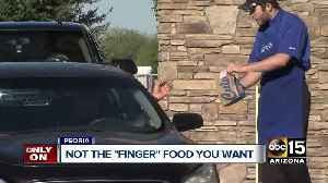 News video: Man bites into burger, finds fake fingernail at Culver's in Peoria