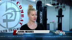 News video: All woman self defense class prepares women to fight for their life