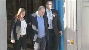News video: Disgraced Movie Mogul Does The Perp Walk Before Being Charged With Sex Crimes
