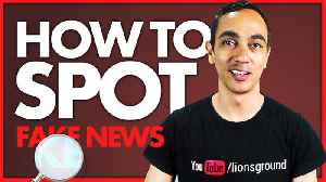 News video: 3 tips how to spot fake UFO news for beginners