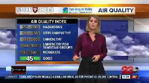 News video: Mild and clearing today