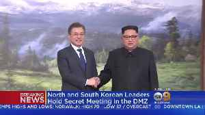 News video: North, South Korean Leaders Meet To Discuss U.S.-North Korean Summit