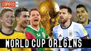 News video: World Cup Origins: How Messi, Ronaldo And Chicharito Became Stars