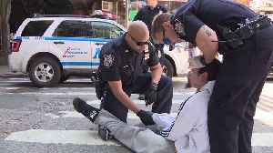 News video: Activists Arrested While Protesting K2 Epidemic in Brooklyn